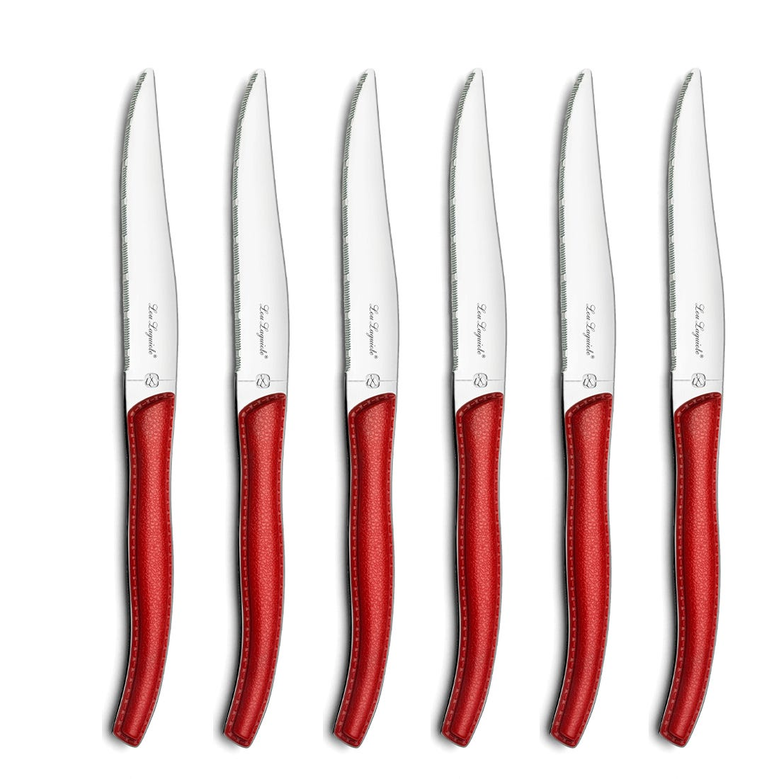 Amefa Steak Knife Set 6-pieces red 2271 SKY LAG